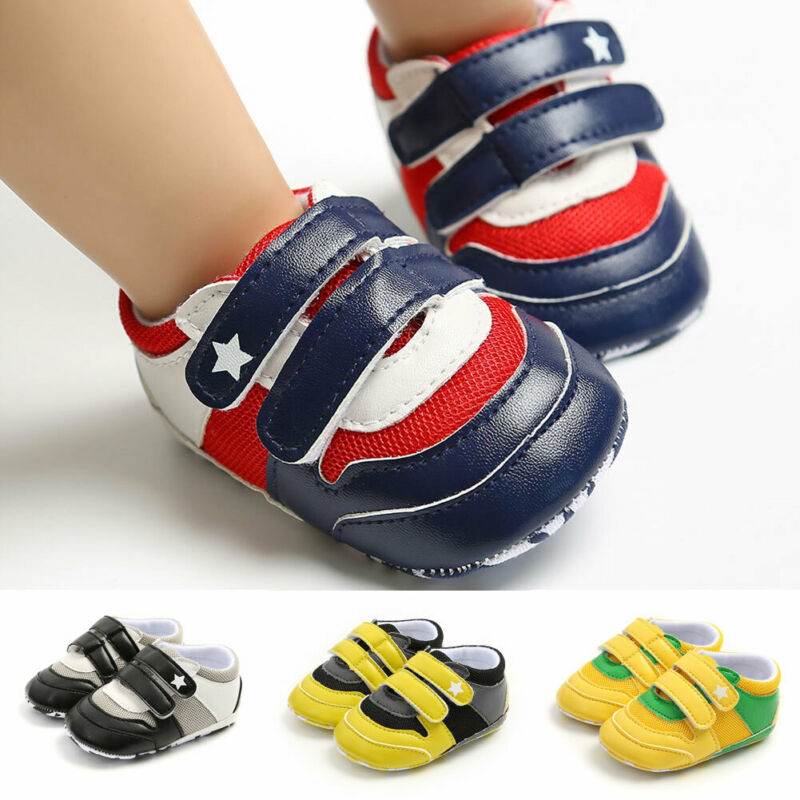 Autumn Winter Kids Shoes Baby Boys Girls Children's Casual Warm Sneakers Breathable Soft Running Sports Non-slip Shoes 0-18M