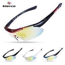 цена на Cycling Sunglasses UV Protection MTB Bike oculos ciclismo Polarized Sports Bicycle Cycling Glasses Man Eyewear Goggles 5 lenses