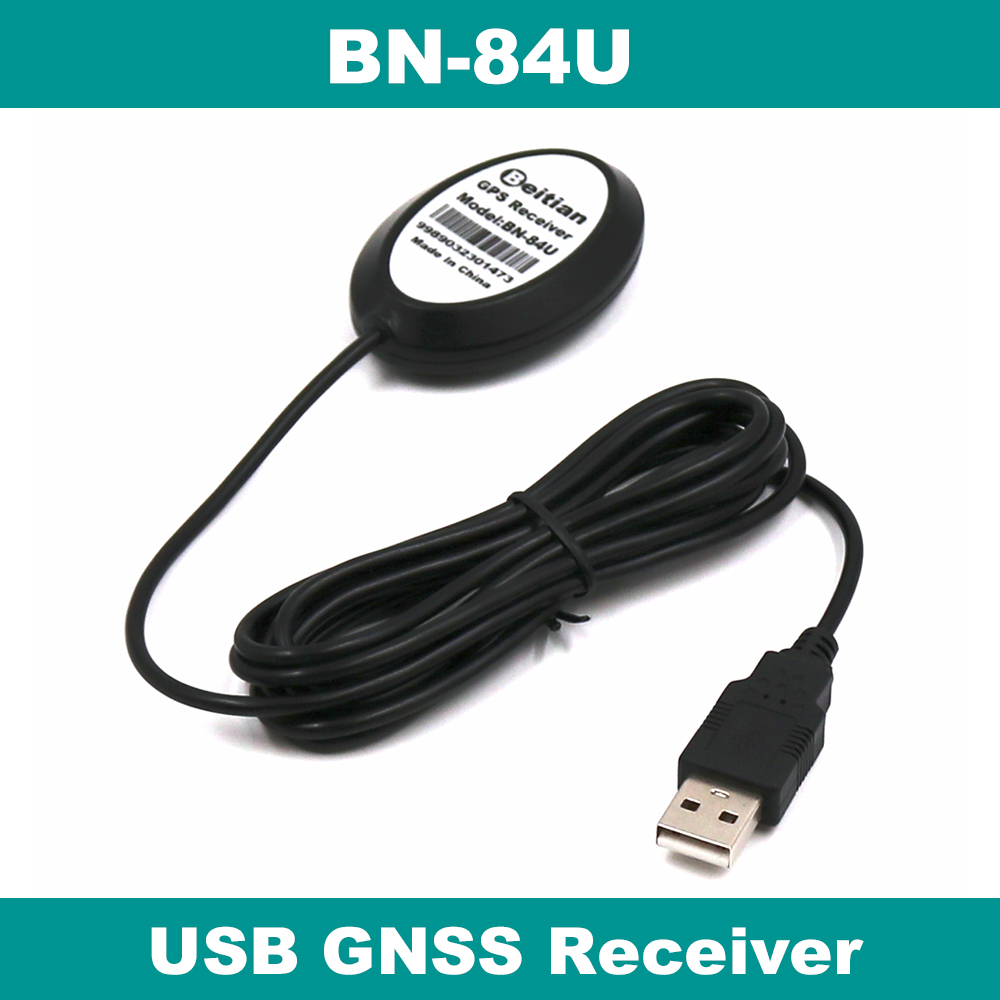 BEITIAN Than Receiver Cable GLONASS Dual-Gps G-MOUSE BU-353S4 GNSS Connector Male BN-84U