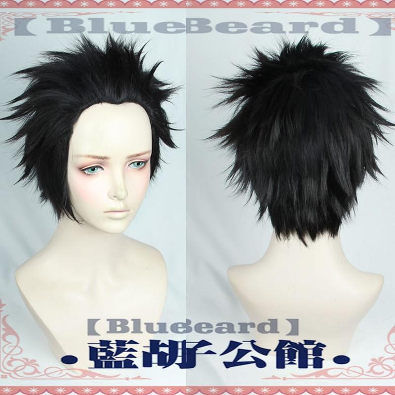 A Silent Voice ishida shouya Cosplay Wig The Shape of Voice Black Facial Hair Role Play