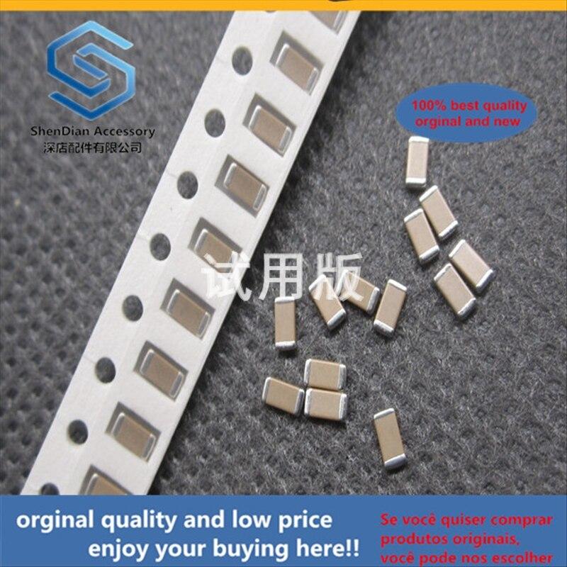 50pcs 100% Orginal New Best Quality SMD Capacitor 1206 332K 3.3NF 50V X7R 10% Ceramic Non-polar MLCC