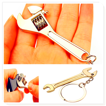 car Wrench Keychain Spanner Chain keyring for BMW 530Li 335i 750i 330i 325i 320si 630i X6 M6 640i 640d 760Li 320d 135i image