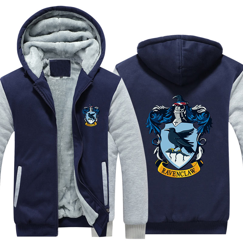 Wizardry 3D Printed Hoodie With Pocket Ravenclaw Gryffindor For Adult Unisex Sweatshirt Costume Casual Hoodies Men Clothes