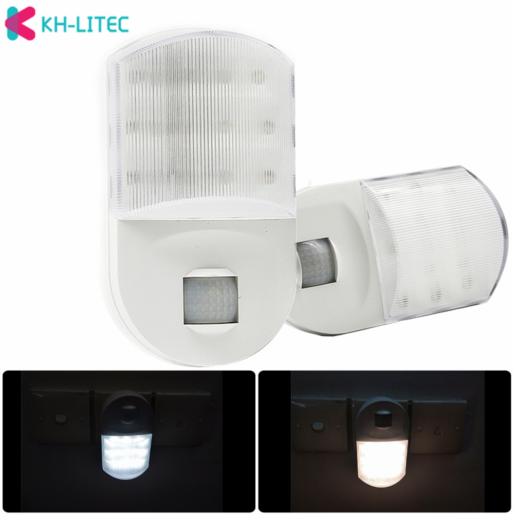 Super Bright Plug In Pir Motion Sensor Led Night Light Sensor LAMP 9 Leds Luminaria Bedroom Hallway LED Wall Light Nightlight