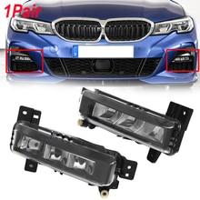 цена на MagicKit Fog Lamp Daytime Running Lights Assembly high brightness Fog Light For BMW 3 Series G20 320d 330i 18-20 LED Fog Lights