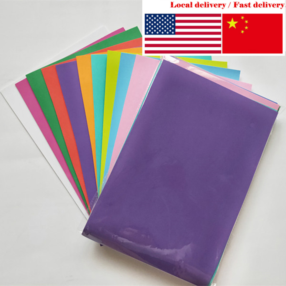 Environmentally-friendly 10pcs/pack A4 Size 2mm Different Color Eva Foam Craft School Projects, Handmade Material