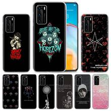 Hard PC Case Cover For Huawei P40 Lite P30 P20 Lite P30 Pro P40 Pro+ P Smart Plus 2019 Phone Bags The Bring Me Horizon BMTH