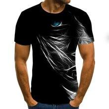 Camisetas divertidas de manga corta para hombre y mujer, camisetas informales con estampado 3d, estilo veraniego, 2021