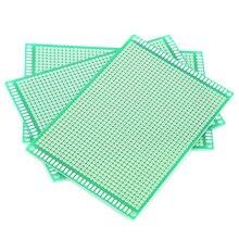 5 шт/лот универсальная печатная плата 8x12 см двухсторонний