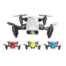 S9HW Mini Drone Camera S9 RC Helicopter Foldable Altitude Hold Remote Quadcopter WiFi FPV Pocket Micro Dron VS CX10W Color Plane s9hw mini drone with camera hd s9 no camera foldable rc quadcopter altitude hold helicopter wifi fpv micro pocket drone