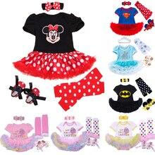 Костюмы «Эльза» и «Супермен»; летняя одежда для малышей; костюмы для маленьких девочек; комплекты одежды для малышей; Детские Праздничные комплекты принцессы с юбкой-пачкой