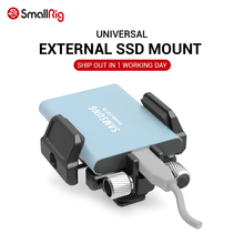 SmallRig SSD Mount Universal Holder for External SSD like for Samsung T5 SSD , for Angelbird SSD2go PKT , Glyph Atom SSD 2343