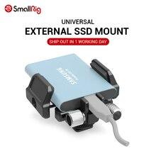 SmallRig SSD uniwersalny uchwyt do zewnętrznego dysku SSD jak do Samsung T5 SSD, do Angelbird SSD2go PKT , Glyph Atom SSD 2343