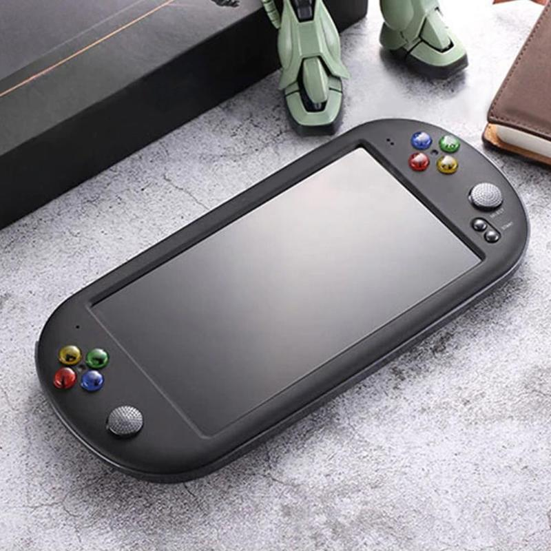 X16 7 inch Color Screen Built-in 8GB/16GB Memory Retro Handheld Game Console Children Gaming Controller Players Birthday Gift