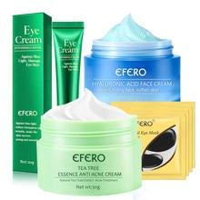 EFERO Tea Tree Anti-acne Face Cream Acne Scar Cream Shrink Pores Face Eliminates Acnes Cream Skin Care Face Cream for Face Care