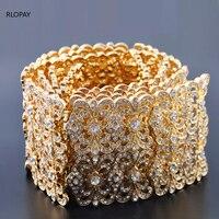 Full stone Morocco Style Waist Belt For Bride Luxury Gold jewelry Waist Chain for Arabic Women Caftan And Wedding Dress Belt