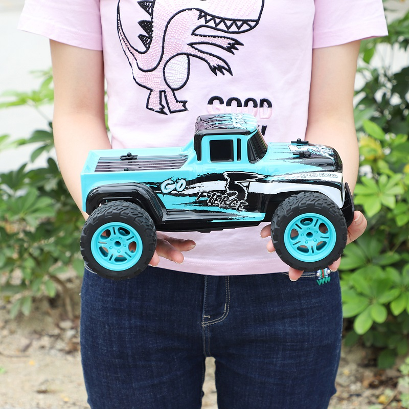 <font><b>1/14</b></font> 2.4G Truck Off-road Remote Control 20KM/H High Speed RC Electric Truck RTF Big Toy Truck Kids Birthday Gift image
