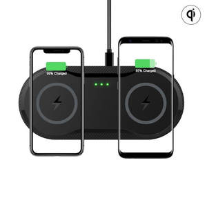 Charger-Pad Dock-Station Fast-Charging iPhone 11 Double Qi Wireless Mobileph 20W For Samsung
