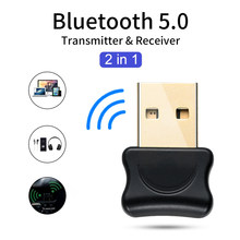 5,0 adaptador Bluetooth USB transmisor Bluetooth para Pc ordenador Receptor auriculares para Laptop de Audio de datos de la impresora Dongle Receptor