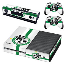 Maccabi Haifa Football Skin Sticker Decal For Xbox One Console and Controllers for Xbox One Slim S X Skin Stickers Vinyl