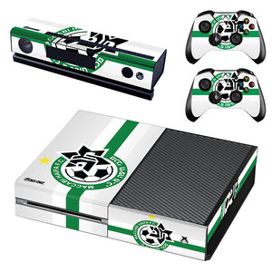 Maccabi Haifa Football Skin Sticker Decal For Xbox One Console and Controllers for Xbox One Slim S X Skin Stickers Vinyl(China)