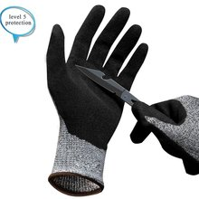 4543 Super Soft Style Anti-Cut Work Protective Gloves Multifunctional Durable Use Working Safety Cut-Resistant