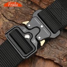 125-140long big size Belt Male Tactical military Canvas Belt