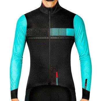 Maillot térmico de manga larga para Ciclismo, Ropa para montar bicicleta, Invierno,...