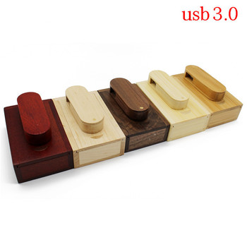 TEXT ME usb3.0 Maple wood carbonized bamboo+box usb flash drive pendrive 4GB 8GB 16GB 32GB maple usb 3.0 photography gift