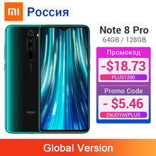 Global Versie Xiaomi Redmi Note 8 Pro 6 Gb 128 Gb/64 Gb 64MP Vier Camera Smartphone Nfc 4500 mah Helio G90T Octa Core Mobiel(China)