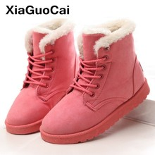 Women Boots Winter Super Warm Snow Boots Suede Ankle Boots For Female Furry Shoes Botas Mujer Plush Booties Shoes Woman 2020 fur boots women bow slip on snow boots women winter shoes warm ankle boots botas mujer plush shoes flat booties chaussures femme