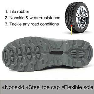 Image 3 - SUADEEX 생존 안전 신발 철강 발가락 철강 스 니 커 즈 Anti slip Anti smashing 작업 남자 작업 부츠 편안한 산업 신발