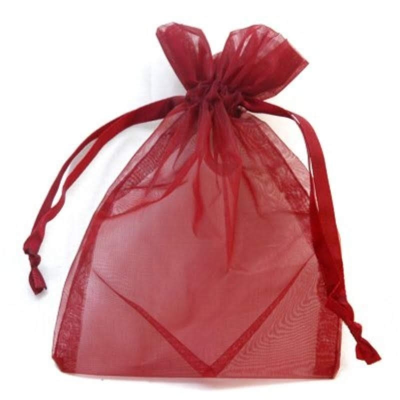 50 PCs. 10x13CM Decor Colorful Bags And Packaging Bags With Drawstring Small Carrier Bags Out Organza Jewelry For Gift