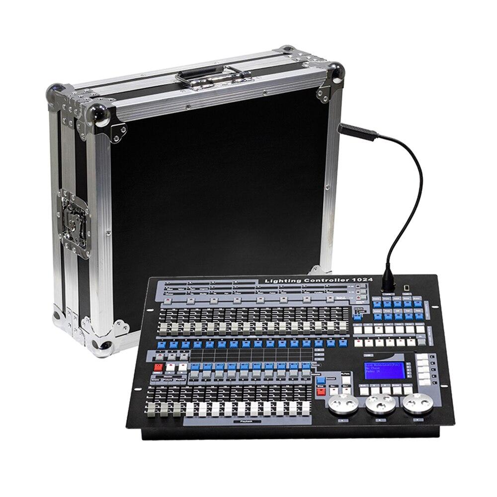 Console DMX 1024 Controller Per Illuminazione Della Fase di DMX 512 DJ Apparecchiature di Controllo Internazionale Standard di 192/768/Pilot 2000 console