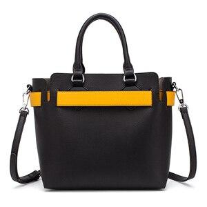 Image 2 - MIYACO Bolso de mano de piel suave para mujer, bolsos de calidad con asa, informales, con cinturón