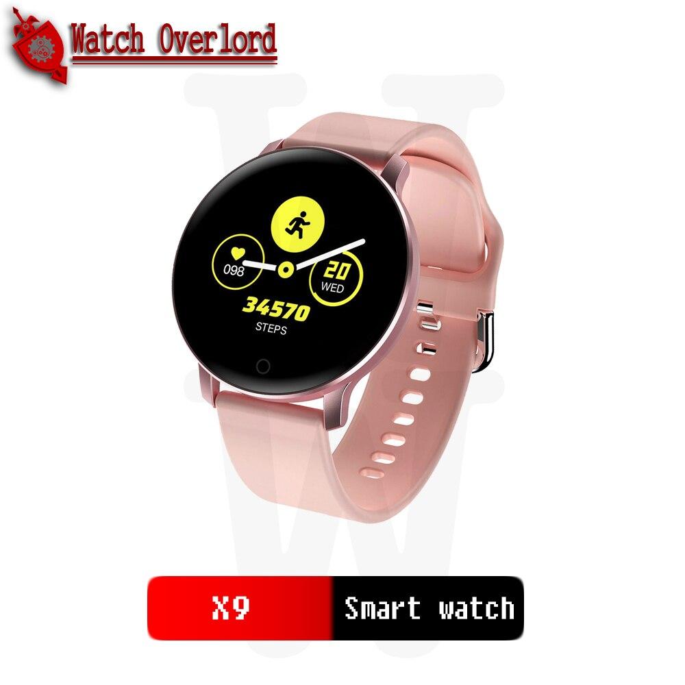 Relojes inteligentes deportivos impermeables para iphone smartwatch con monitor de ritmo cardíaco funciones de presión arterial para mujeres y hombres chico X9 Reloj inteligente I5 para mujeres/hombres Monitor de ritmo cardíaco Seguimiento de la presión arterial Bluetooth reloj inteligente para mujeres para Apple Watch Andriod