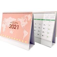 Coil-Schedule Calendar Planner Desk-Table Reminder Landscape English Tourist Dates International