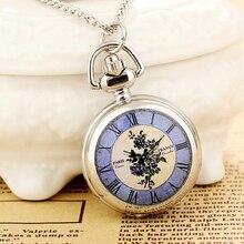 2019New изделий женщин карманные часы высокое качество стимпанк ожерелье кварцевые мода Relogio женщина для печати