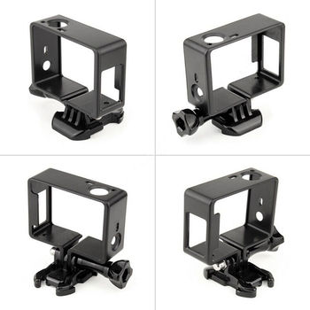 For GoPro Hero 4 3+ 3 Protective Border Frame Case Camcorder Housing Go Pro Hero4 Action Camera Accessories - discount item  36% OFF Camera & Photo