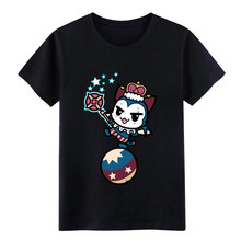 water brownie m agician orion summoners war baseball t shirt Designs Short Sleeve Crew Neck Leisure Graphic Spring Autumn shirt(China)