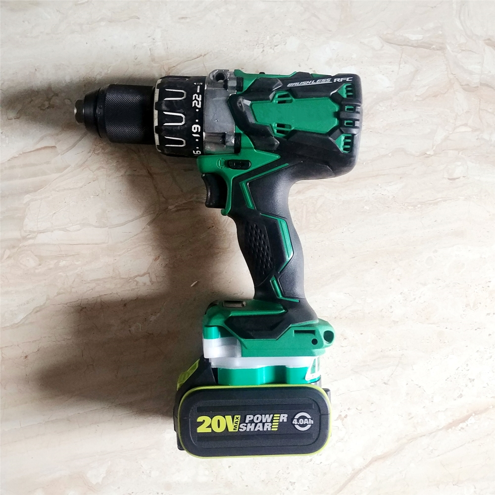 Power Tool Adapter Electric Drill Screwdriver Conversion Head For HITACHI Machine Body To For G WORX Green Battery