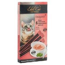 Лакомство для кошек Edel Cat, крем-суп лосось, 6шт