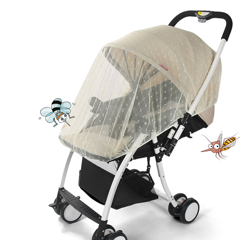 Infants Baby Stroller Mosquito Net Safe Mesh Buggy Crib Netting Cart Mosquito Net Pushchair Accessories Full Cover Netting Pakistan