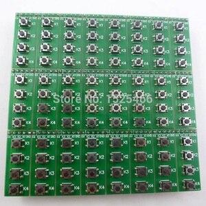 Image 3 - 24pcs Universale di DC 0 48V 4 tasto push button switch Modulo Tastiera Matrix Consiglio per PIC PLC BRACCIO FPGA CPLD Bordo di Sviluppo di MCU