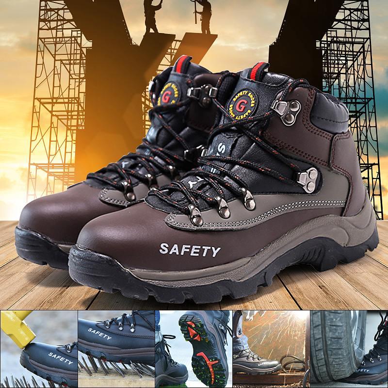 Work Boots \u0026 Shoes Men Indestructible
