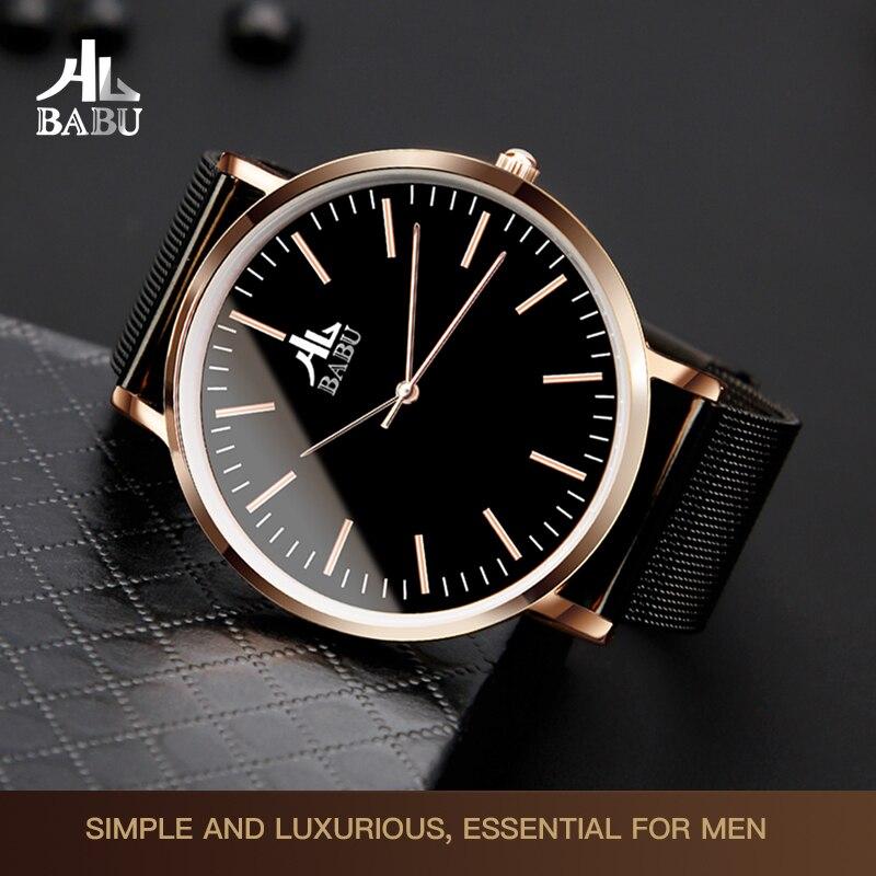 B001 Watch Waterproof Fashion Trend Electronic Korean Simple Casual Atmospheric Student Non-Mechanical Watch Men's Watch