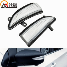 For Nissan Altima Teana L33 2013- 2018 Sylphy Sentra Pulsar Tiida LED Dynamic Turn Signal Light Side Mirror Indicator Sequential us8 12 l33