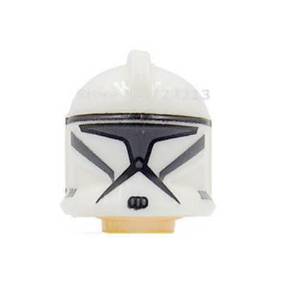 Storm Troopers Star Wars Figuur Hoofd Shadow Arf Vos Wolfpack Shock Zand Death Clone Trooper Bouwsteenspeelgoed