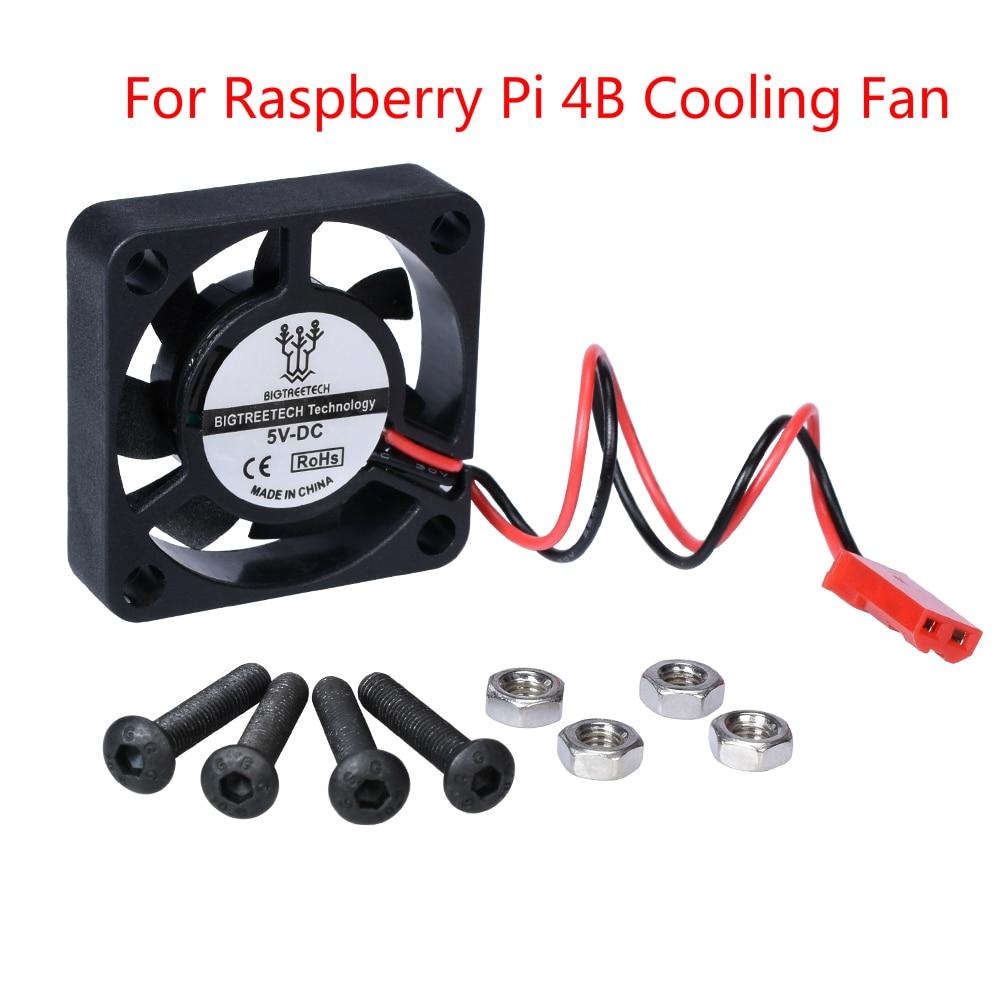 For Raspberry Pi 4 Cooling Fan Pi Fan CPU Fan Small Mini Fan 30x30x7mm Brushless Quiet Cooling Fan For Raspberry Pi 4 Model B