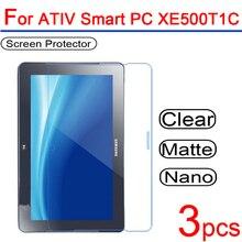 3 teile/los Ultra Clear PET Anti-scratch Weiche LCD Display-schutzfolien Schutz Abdeckung für Samsung ATIV Smart PC XE500T1C-A01CN 11,6 Film